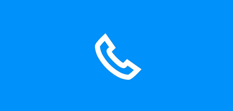 Symnolzeichen für Telefonie