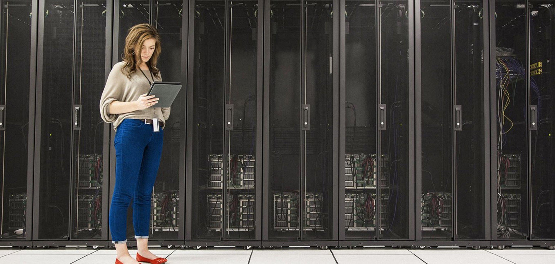Symbolfoto für Colocation und sichere Daten im Data Center von NetAachen.