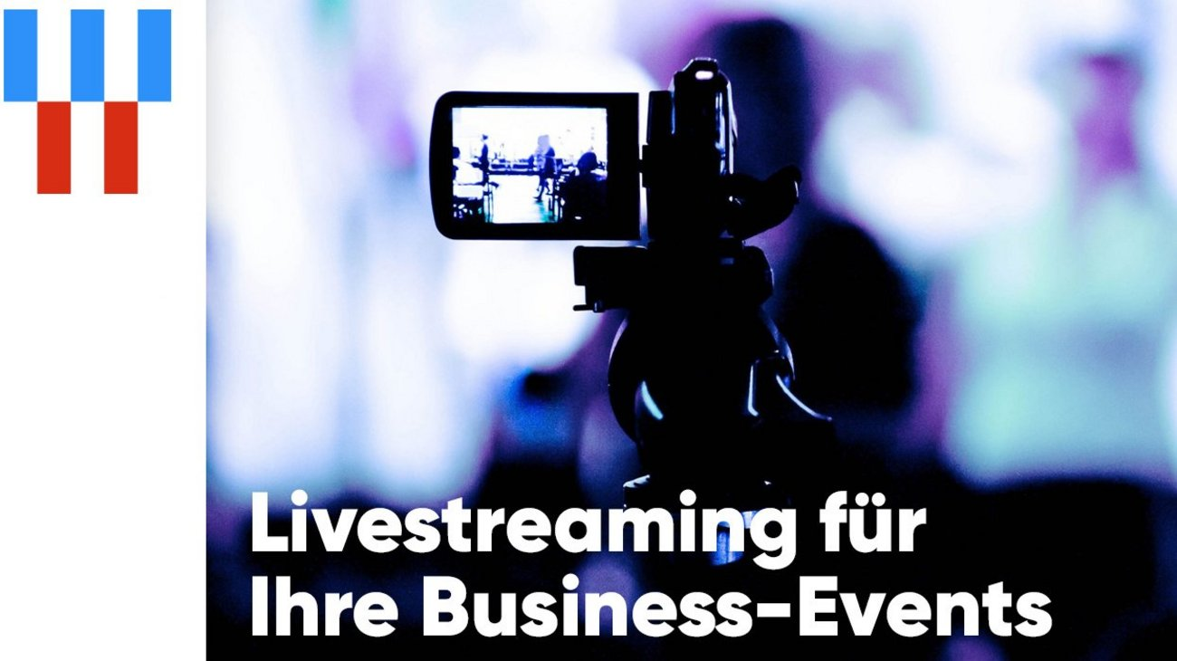 Symbolbild für Livestreaming von NetCologne.