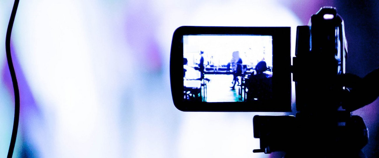 Symbolbild für Livestreaming mit NetCologne.