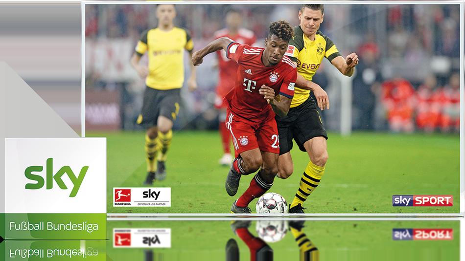 Sky Fußball-Bundesliga-Paket - Insgesamt 572 Spiele der Bundesliga inklusive aller Partien der 2. Bundesliga