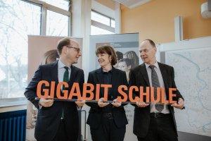 Startschuss für die Gigabit Schulen
